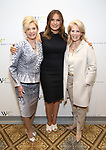 Carolyn B. Maloney, Mariska Hargitay and Daryl Roth attend The 7th Annual Elly Awards at The Plaza Hotel on June 19, 2017 in New York City.