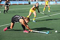 Frances Davies. Pro League Hockey, Vantage Blacksticks Women v Australia, ANZAC Hockey test. North Harbour Hockey Stadium, Auckland, New Zealand. Thursday 25 April 2019. Photo: Simon Watts/Hockey NZ