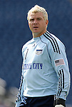 11 July 2009: Kansas City's Kevin Hartman. The New England Revolution played the Kansas City Wizards to a 0-0 tie at Gillette Stadium in Foxboro, Massachusetts in a regular season Major League Soccer game.