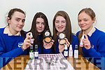 Killarney Preentation students Sarah Crowley, Fiona Casey, Sarah Randles and abbie Cronin with their new beauty product Whats The Crack which repairs Make up powder