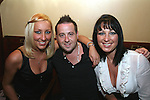 Stephanie Stowe, Ronan Quinn and Elaine Ivory enjoy night out in McPhails...Photo NEWSFILE/Jenny Matthews.(Photo credit should read Jenny Matthews/NEWSFILE)....This Picture has been sent you under the condtions enclosed by:.Newsfile Ltd..The Studio,.Millmount Abbey,.Drogheda,.Co Meath..Ireland..Tel: +353(0)41-9871240.Fax: +353(0)41-9871260.GSM: +353(0)86-2500958.email: pictures@newsfile.ie.www.newsfile.ie.FTP: 193.120.102.198.