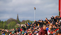 Barnsley fans cheer their side on<br /> <br /> Photographer Alex Dodd/CameraSport<br /> <br /> The EFL Sky Bet League One - Barnsley v Blackpool - Saturday 27th April 2019 - Oakwell - Barnsley<br /> <br /> World Copyright © 2019 CameraSport. All rights reserved. 43 Linden Ave. Countesthorpe. Leicester. England. LE8 5PG - Tel: +44 (0) 116 277 4147 - admin@camerasport.com - www.camerasport.com