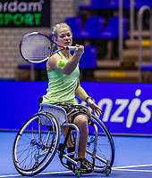 Rotterdam, Netherlands, December 12, 2017, Topsportcentrum, Ned. Loterij NK Tennis, Womans Wheelchair, Diede de Groot (NED) <br /> Photo: Tennisimages/Henk Koster