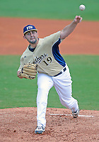 Florida International University left handed pitcher R.J. Fondon (19) plays against Florida Atlantic University. FAU won the game 9-3 on March 18, 2012 at Miami, Florida.
