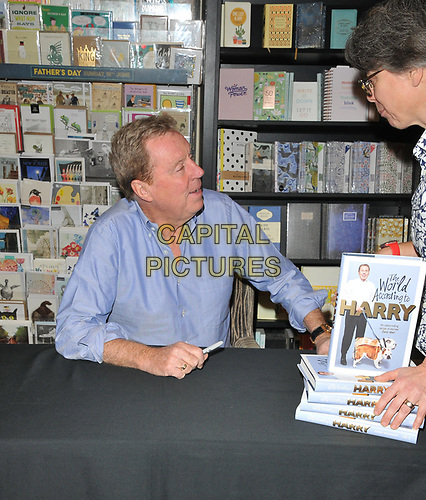 """Harry Redknapp at the """"The World According to Harry"""" by Harry Redknapp book signing, Waterstones Leadenhall Market, Leadenhall Market, London, England, UK, on Friday 31st May 2019.<br /> CAP/CAN<br /> ©CAN/Capital Pictures"""