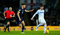 Leeds United's Pablo Hernandez gets away from Derby County's George Evans<br /> <br /> Photographer Alex Dodd/CameraSport<br /> <br /> The EFL Sky Bet Championship -  Leeds United v Derby County - Friday 11th January 2019 - Elland Road - Leeds<br /> <br /> World Copyright &copy; 2019 CameraSport. All rights reserved. 43 Linden Ave. Countesthorpe. Leicester. England. LE8 5PG - Tel: +44 (0) 116 277 4147 - admin@camerasport.com - www.camerasport.com