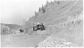 RGS #20 with short freight between Dolores and Stoner.<br /> RGS  between Dolores &amp; Stoner, CO  Taken by Richardson, Robert W. - 5/23/1951