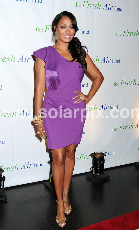 **ALL ROUND PICTURES FROM SOLARPIX.COM**                                             **UK SYNDICATION RIGHTS ONLY**                                                                                  Caption: Arrivals at the Fresh Air Fund 2011 Gala, held at Chelsea Piers, New York City, USA. June 2, 2011                                                                              This pic: LaLa Vazquez                                                                               JOB REF: 13489 RHB      DATE: 02_06_2011                                                          **MUST CREDIT SOLARPIX.COM OR DOUBLE FEE WILL BE CHARGED**                                                                      **MUST AGREE FEE BEFORE ONLINE USAGE**                               **CALL US ON: +34 952 811 768 or LOW RATE FROM UK 0844 617 7637**