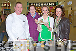 SAMPLING: Sampling some of the pankecakes that were made by chefs who gave up their time on Sunday to make panks for Flip for Life in The Manor West Retail Park Shopping Centre, L-r: Darragh  Creagh (Chef)  Phil Brosnan, (Castleisland) Cloadh Mc Kenna (Special Guest), Amanda Tarrant (Tralee)....
