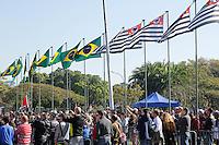 SAO PAULO, SP, 09.07.2016 - REVOLUÇÃO1932- Desfile em comemoração à Revolução Constitucionalista de 1932 na região do Parque do Ibirapuera em São Paulo, neste sábado, 09.(Foto: Darcio Nunciatelli/Brazil Photo Press)