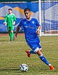 Reno 1868 FC's Junior Burgos during their Inaugural Friendly soccer match against the San Jose Earthquakes at Greater Nevada field in downtown Reno on Saturday, February 18, 2017.