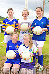 FUN:  Enjoying the fun at the VHI GAA Cu?l Camp in Glenflesk last Thursday were, front l-r: Joanne O'Connell, Saoirse Kelly. Back l-r: Orla Kelleher, Katelyn O'Keeffe, Juliet O'Shea..