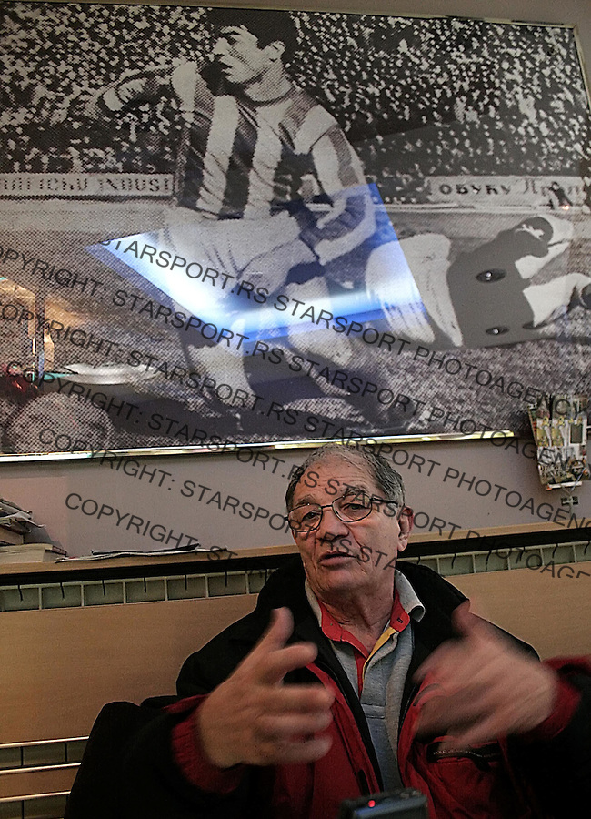 SPORT FUDBAL CRVENA ZVEZDA DRAGOSLAV SEKULARAC 28.12.2005. foto: Pedja Milosavljevic<br />