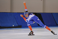 SPEED SKATING: SALT LAKE CITY: 18-11-2015, Utah Olympic Oval, ISU World Cup, training, Janine Smit (NED), ©foto Martin de Jong