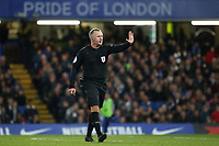 Match Referee, Jonathan Moss during Chelsea vs Derby County, Caraboa Cup Football at Stamford Bridge on 31st October 2018