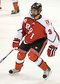 Guy Leboeuf (RPI - 3) - The visiting Rensselaer Polytechnic Institute Engineers tied their host, the Northeastern University Huskies, 2-2 (OT) on Friday, October 15, 2010, at Matthews Arena in Boston, MA.