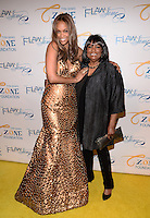 NEW YORK, NY - MAY 6, 2014: Carolyn London and Tyra banks   attends the Tyra Banks'  Flawsome Ball 2014 , at Cipriani Wall Street ,May 6 , 2014 in New York City  HP/StarlitePics