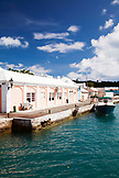 BERMUDA. St. George. A scenic view in St. George.
