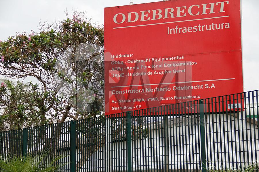 GUARULHOS, SP, 13.03.2017 - CONSTRUTURA-ODEBRECHT - Vista da sede construtura Odebrecht na cidade de Guarulhos nesta segunda-feira, 13. (Foto: Nelson Gariba/Brazil Photo Press)