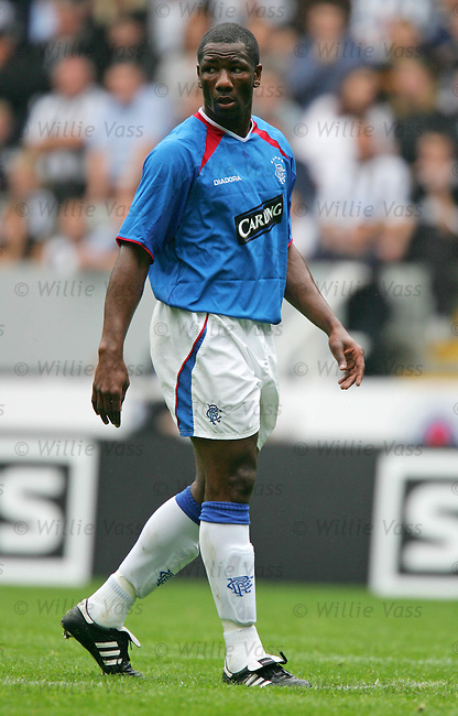 Marvin Andrews, Rangers.stock season 2004-2005.pic willie vass