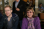 "Anthony Rapp and One Life To Live Phyllis Newman ""Renee Devine Buchanan"" at The 26th Annual Broadway Flea Market and Grand Auction to benefit Broadway Cares/Equity Fights Aids on September 23, 2012 in Shubert Alley and Times Square, New York City, New York.  (Photo by Sue Coflin/Max Photos)"