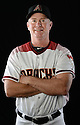 Arizona Diamondbacks Glenn Sherlock (53) during photo day on February 28, 2016 in Scottsdale, AZ.
