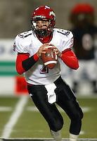 Kevin Federick Calgary Stampeders quarterback. Copyright photograph Scott Grant