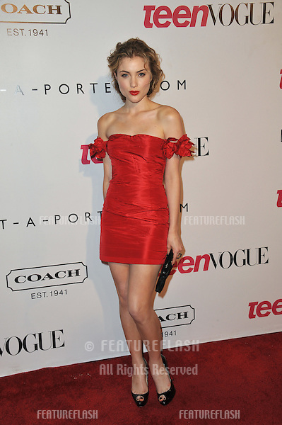 Skyler Samuels at the 9th Annual Teen Vogue Young Hollywood Party at Paramount Studios, Hollywood..September 23, 2011  Los Angeles, CA.Picture: Paul Smith / Featureflash