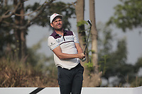 David Howell (ENG) in action on the 12th during Round 2 of the Hero Indian Open at the DLF Golf and Country Club on Friday 9th March 2018.<br /> Picture:  Thos Caffrey / www.golffile.ie<br /> <br /> All photo usage must carry mandatory copyright credit (&copy; Golffile | Thos Caffrey)