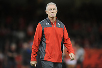 Wales Rob Howley during the pre match warm up<br /> <br /> Photographer Ian Cook/CameraSport<br /> <br /> 2019 Under Armour Summer Series - Wales v Ireland - Saturday 31st August 2019 - Principality Stadium - Cardifff<br /> <br /> World Copyright © 2019 CameraSport. All rights reserved. 43 Linden Ave. Countesthorpe. Leicester. England. LE8 5PG - Tel: +44 (0) 116 277 4147 - admin@camerasport.com - www.camerasport.com