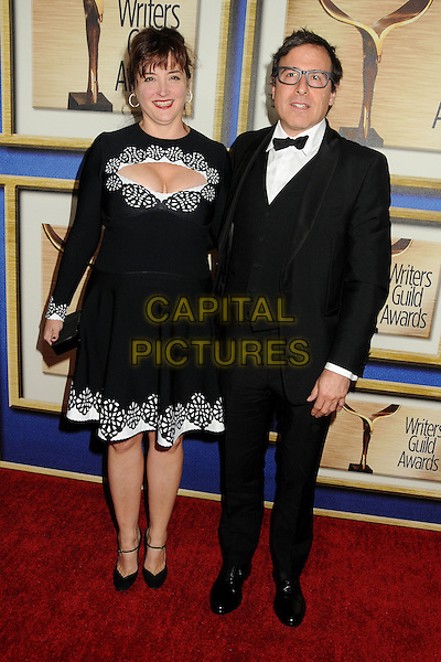1 February 2014 - Los Angeles, California - Holly Davis, David O. Russell. 2014 Writers Guild Awards West Coast held at the JW Marriott Hotel.  <br /> CAP/ADM/BP<br /> &copy;Byron Purvis/AdMedia/Capital Pictures