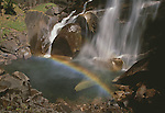 Raimbow and waterfall