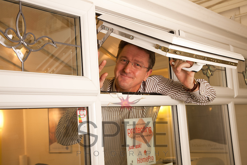 Alan Crowe, MD of Polar Windows from Chesterfield