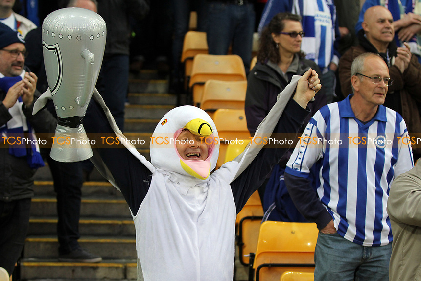 Brighton fans during Norwich City vs Brighton & Hove Albion, Sky Bet EFL Championship Football at Carrow Road on 21st April 2017
