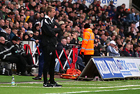 Swansea City manager Graham Potter watches on from the technical area <br /> <br /> Photographer Ian Cook - CameraSport<br /> <br /> The EFL Sky Bet Championship - Swansea City v Ipswich Town - Saturday 6th October 2018 - Liberty Stadium - Swansea<br /> <br /> World Copyright &copy; 2018 CameraSport. All rights reserved. 43 Linden Ave. Countesthorpe. Leicester. England. LE8 5PG - Tel: +44 (0) 116 277 4147 - admin@camerasport.com - www.camerasport.com