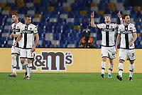 Dejan Kulusevski of Parma celebrates after scoring a goal<br /> Napoli 14-12-2019 Stadio San Paolo <br /> Football Serie A 2019/2020 <br /> SSC Napoli - Parma Calcio 1913<br /> Photo Cesare Purini / Insidefoto