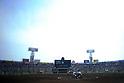 Hanshin Koshien Stadium, MARCH 31, 2016 - Baseball : A general view inside of Koshien Stadium in the fifth inning during the 88th National High School Baseball Invitational Tournament final game between Takamatsu Shogyo 1-2 Chiben Gakuen in Hyogo, Japan. (Photo by Katsuro Okazawa/AFLO)
