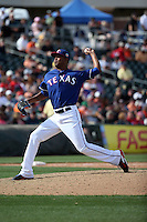 Yohander Mendez - Texas Rangers 2016 spring training (Bill Mitchell)