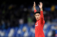 Her Chan Hwang of FC Salzburg <br /> Napoli 05-11-2019 Stadio San Paolo <br /> Football Champions League 2019/2020 Group E<br /> SSC Napoli - FC Salzburg<br /> Photo Antonietta Baldassarre / Insidefoto
