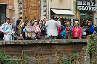 Rome continue to be one of the most visited city in the world..Roma continua ad essere una delle città più visitata al mondo.Japaneses tuorist in Rome.Turisti Giapponesi a Roma