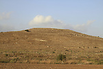 Israel, Shephelah, a view of Tel Burna, a Canaanite and Israelite site