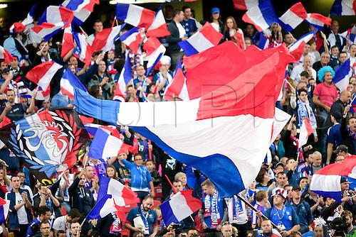04.06.2016. Stade Saint Symphorien, Metz, France. International football freindly,France versus Scotland.  supporters of France