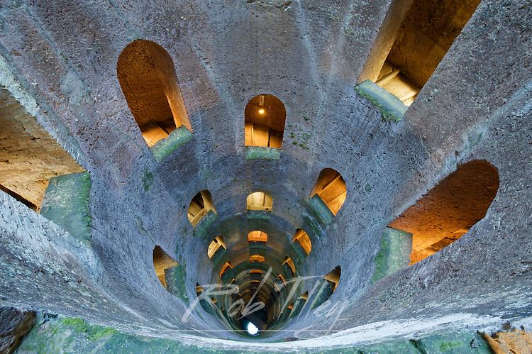 Europe, Italy, Umbria, Orvieto, St. Patrick's Well (Pozzo di San Patrizio)