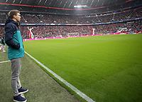 25.01.2018, Allianz Arena, Muenchen, GER, 1.FBL, FC Bayern Muenchen vs TSG 1899 Hoffenheim , <br />Trainer Julian Nagelsmann (Hoffenheim) *** Local Caption *** © pixathlon<br /> Contact: +49-40-22 63 02 60 , info@pixathlon.de