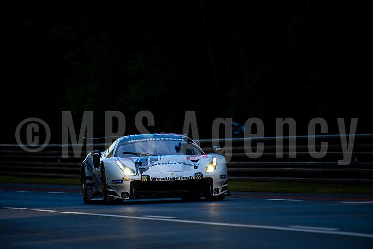#62 WEATHERTECH RACING (USA) FERRARI 488 GTE LM GTE AM COOPER MACNEIL (USA) TONI VILANDER (FIN) ROBERT SMITH (GBR)