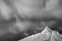 McClellan Butte in winter, North Cascade Mts, Washington