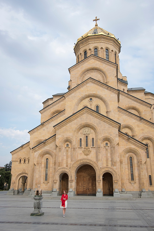 Samba Cathedral is the third tallest Eastern Orthodox Church and its golden dome can be seen throughout Tbilisi.