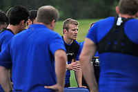 Jonathan Evans of Bath Rugby. Bath Rugby training session on August 4, 2015 at Farleigh House in Bath, England. Photo by: Patrick Khachfe / Onside Images