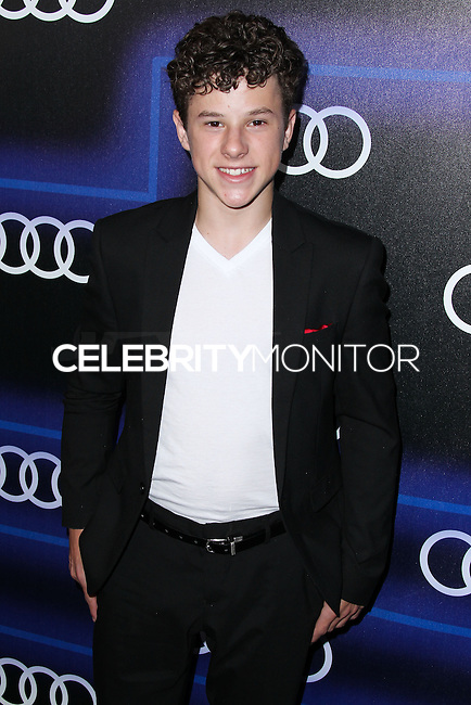 WEST HOLLYWOOD, CA, USA - AUGUST 21: Nolan Gould at the Audi Emmy Week Celebration 2014 held at Cecconi's Restaurant on August 21, 2014 in West Hollywood, California, United States. (Photo by Xavier Collin/Celebrity Monitor)