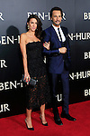 LOS ANGELES - AUG 16: Rodrigo Santoro, Mel Fronckowiak at the premiere of Ben-Hur at the TCL Chinese Theatre IMAX on August 16, 2016 in Los Angeles, California